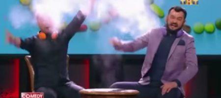 """Большой скандал на РФ: известные комики высмеяли своих спортсменов, сделав сценку про """"Допингиаду"""" (ВИДЕО)"""
