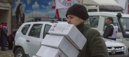 Красный Крест собирается снова отправить гуманитарную помощь на Донбасс