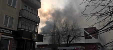 Большой пожар с большими жертвами в ТЦ российского Кемерово (ВИДЕО)