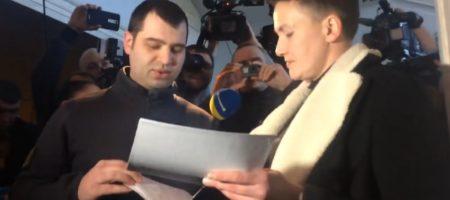 Савченко задержали прямо в здании ВР