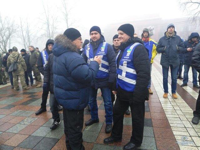 Полиция перекрыла центр Киева: что происходит - подробности (ФОТО)