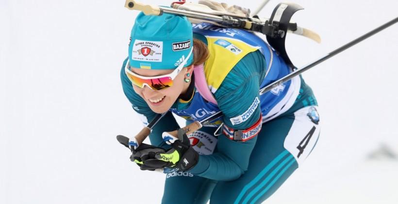 Джима завоевала бронзу в последнем спринте сезона для украинок
