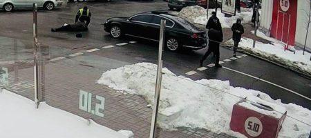 Полицейские из кортежа Порошенка сбили пешехода в Киеве (ФОТО)