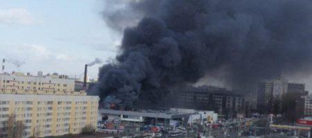 Снова пожар на России! В Санкт-Петербурге новый масштабный пожар, сигнализация снова не сработала (ВИДЕО)