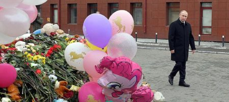 """Цинизм без границ! Путин навестил в больнице """"пострадавшего от пожара"""" в Кемерово подсадной утку Россгварди (ФОТО)"""