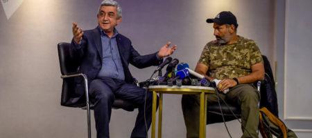 Премьер Армении Саргсян не пошел по сценарию Януковича и подал в отставку