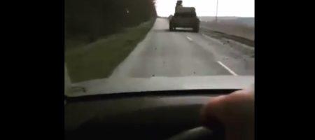 Обеспокоенные россияне выкладывают видео огромных колон российской военной техники которая идет на Донбасс (ВИДЕО)