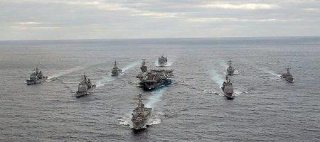 Трепещите: в сети появились кадры мощнейшей армады американского флота, который приближается к Сирии (ВИДЕО)