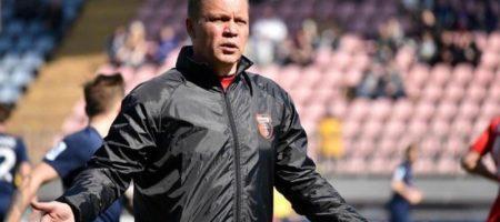 Верес идет на радикальные меры и уволил главного тренера Свиркова