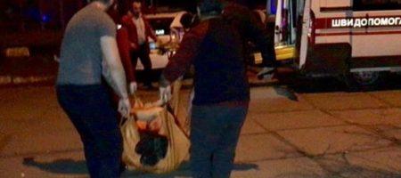 Массовая драка в Киеве переросла в поножовщину с раненными (ВИДЕО)