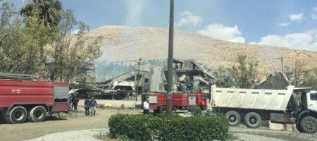 """""""Томагавк дал точно в цель"""" - в сети показали видео последствия удара коалиции по одному из объектов Асада в Сирии (ВИДЕО)"""