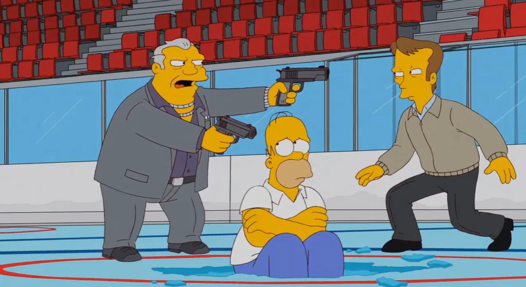 """Культовый мультфильм """"Симпсоны"""" в одной из серий посмеялись с Януковича, его экс жены и окружения (ВИДЕО)"""