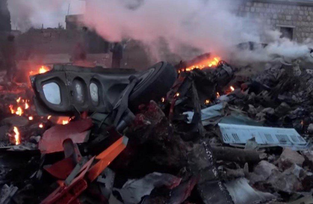 УЖАС! В Алжире разбился самолет, свыше 200 погибших (ПЕРВЫЕ КАДРЫ 18+)