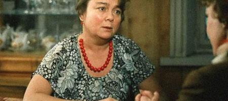 """На России умерла известная актриса известная по фильму """"Любовь и голуби"""""""