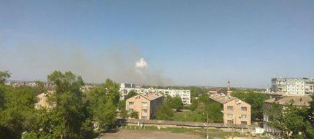 В Балаклее снова взрывы. От жары начали детонировать снаряды (ВИДЕО)