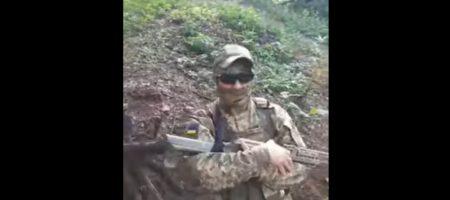 """""""Как это на украинском? ааа точно - пєрємога!"""" ряженые боевики опозорились обращением к Порошенко (ВИДЕО)"""