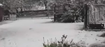 Пока украинские синоптики прогнозируют жару на 1 мая, во Франции выпал снег. Куда движется циклон и что ждать украинцам (ВИДЕО)