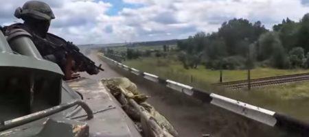 Украинские воины засняли неудачную попытку российских боевиков устроить засаду колоне ВСУ (ВИДЕО)