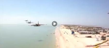 Люди в шоке идет бурное обсуждение: Украина подняла боевую авиацию над Азовским морем (ВИДЕО)
