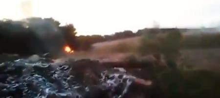 Кадры покорившие интернет: мощный контрудар артиллерии ВСУ на Донбассе, уничтожившей много боевиков (ВИДЕО)