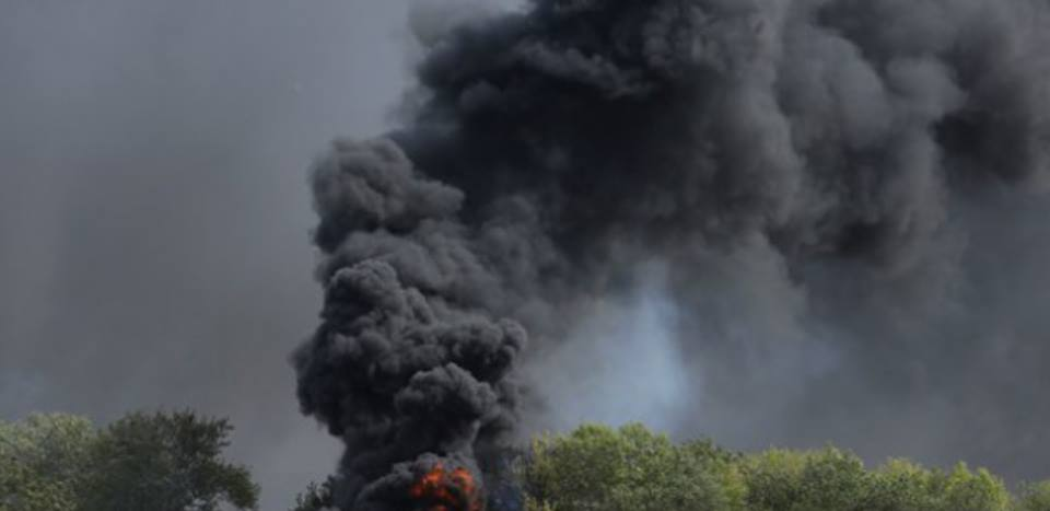 Отомстили за павших братьев! ВСУ точным попаданием разбомбило Урал с боевиками (ФОТО)