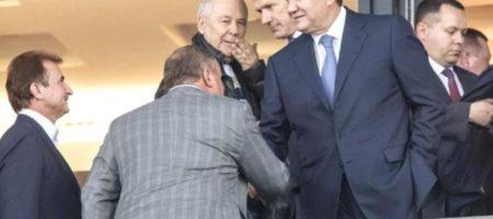 """""""Легитимный всплыл!"""" Януковича засекли на матче Россия - Испания рядом с Медведевым"""