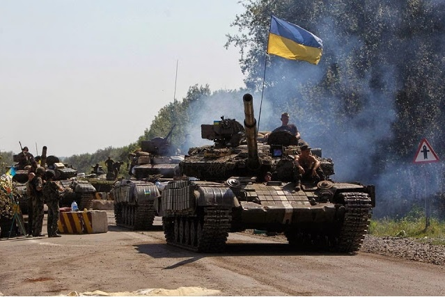 """Танковое подразделение ВСУ под Песками героически уничтожило около сотни боевиков """"ДНР"""""""
