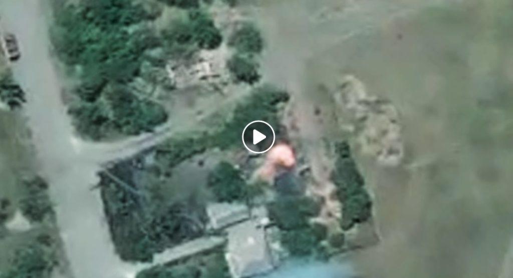 Под Коминтерново украинские артиллеристы точным арт ударом разбомбили позиции боевиков. Подорвали русскую технику и несколько офицеров ВС РФ (ВИДЕО)
