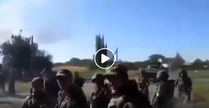 Так Россия начала оккупацию Донбасса: в Сети появились редкие кадры с российскими боевиками сразу после вторжения в Украину (ВИДЕО)