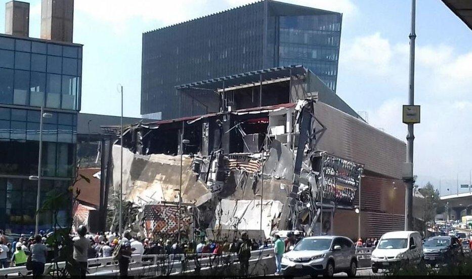 Ужасное ЧП в Мексике: обрушился торговый центр в Мехико