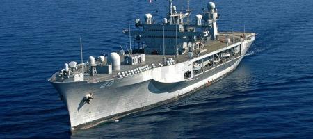В ответ на русские провокации в Черное море вошли военные корабли США, в Одессе приземлились самолеты