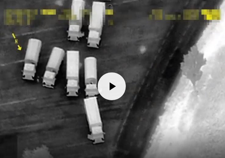 В ОБСЕ объявили тревогу! Россия ввела на территорию Украины огромную колону военной техники (ВИДЕО)
