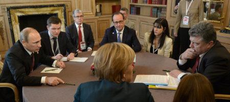 """""""Я вас раздавлю!"""" - Олланд рассказал, как неадекватный Путин бросался на Порошенко во время встречи Нормандской четверки, но получил достойный ответ"""