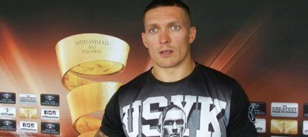 """""""Я готов был бы 24 часа кричать, но..."""" - Усик в скандальном интервью объяснил, почему на ринге в РФ не звучал лозунг """"Слава Украине"""""""