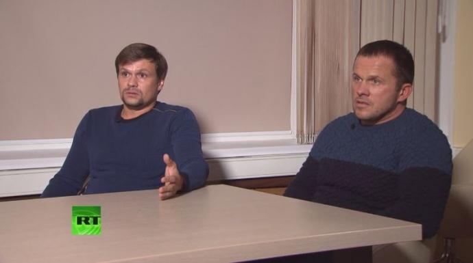 Подозреваемые в отравление Скрипалей дали интервью русским пропагандистским СМИ (ВИДЕО)