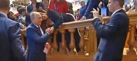 """Путин """"усыхает""""! Интернет высмеял снимок с кремлевским главарем (ВИДЕО)"""