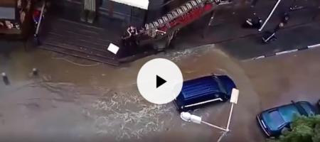 Ещё одна серьезная экокатастрофа в Крыму: кислотные дожди переросли в наводнение (ВИДЕО)
