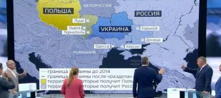 """""""Вы хотите поделить Украину с Польшей? Скорее, мы с Украиной поделим Россию на мелкие государства!"""": польский офицер в прямом эфире опустил русских"""