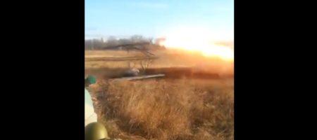 """Эпичный подрыв самих себя! Боевики """"ДНР"""" неудачно выстрелили из переносного """"Града"""" и подорвали сами себя (ВИДЕО)"""