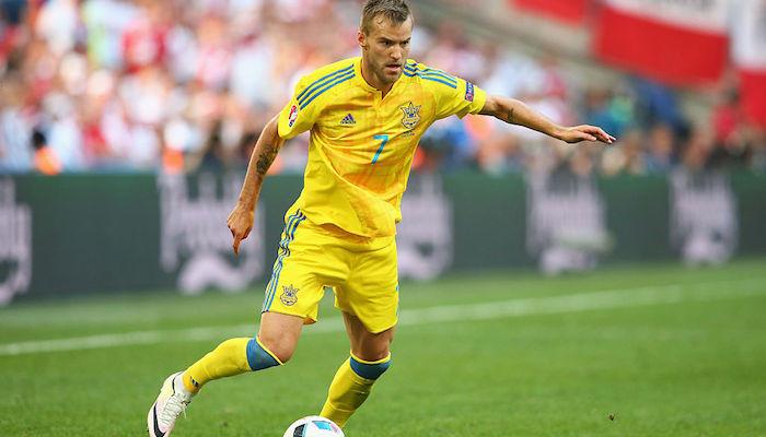 Ярмоленко получил повреждение и не сыграет против Италии