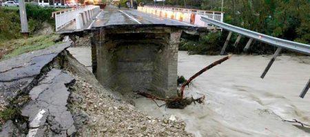 Армагедон на России: природа крушит мосты и города, есть жертвы (ВИДЕО)