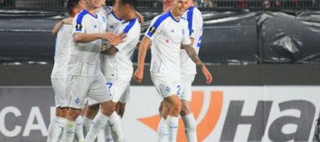 Динамо уверенно обыграло Ренн в Лиге Европе