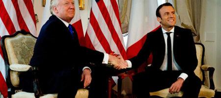 Трамп раскритиковал идею Макрона о создании общеевропейской армии