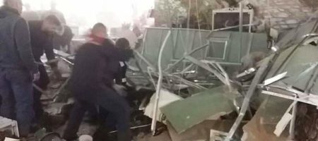 В Минске на посетителей обрушилась крыша торгового центра
