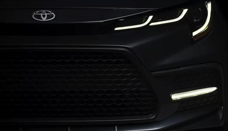 Японский производитель автомобилей Toyota показал как будет выглядеть новая Corolla