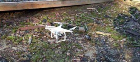 Военные на территории арсенала в Ичне нашли неизвестный квадрокоптер