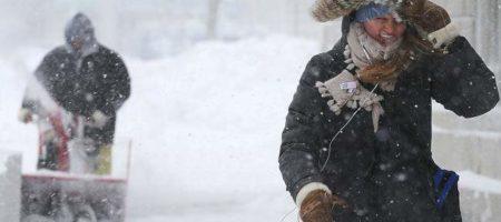Сразу 8 человек погибло из-за снегопада в Нью-Йорке