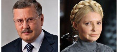 Тимошенко заявила о желании сотрудничать с Гриценко, Садовым и Вакарчуком