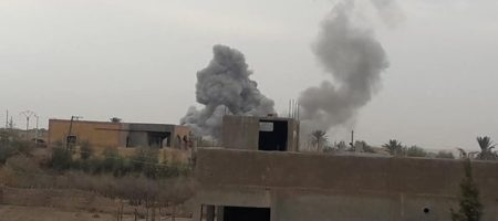 В Сирии в районе города Дейр эз-Зор ликвидировали групу российских военных
