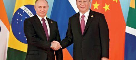 В попытках сохранить экономику Россия запускает Китай на свой арктический шельф